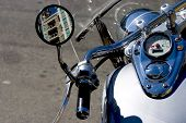 picture of speedo  - closeup of a motorcycle - JPG