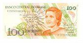 Bill 100 cruzeiro de Brasil