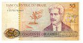 Bill 50 cruzeiro de Brasil