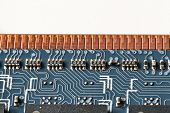 close up of DDR2 memory module