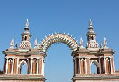 Arch - The Part Of The Architectural Ensemble Tsaritsyno