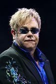 MINSK, BELARUS - JUNE 26: Singer Elton John performs onstage at Minsk Arena June 26, 2010 in Minsk,