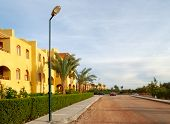 street in El-Gouna, Egypt