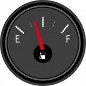 Vector Illustration of gas full set