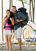 Par llevar mochilas Camping