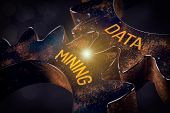 Data Mining (data-mining) Process And Big Data Analysis (bigdata) Issue Concept. poster