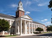 picture of school building  - Davidson Hall on the campus of Central Connecticut State University in New Britain Connecticut - JPG