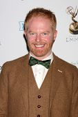 LOS ANGELES - SEP 21:  Jesse Tyler Ferguson arrives at the Primetime Emmys Performers Nominee Recept
