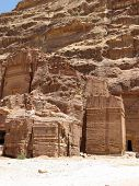 Ancient Ruins In Petra