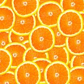 Healthy food, background. Orange