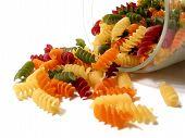 Colorful Pasta Jar
