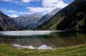 The Vilsalpsee in Tyrol, Austria