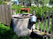 Artesian Well In Ukrainian Village