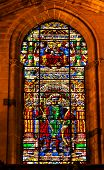 King Ferdinand Stained Glass Cathedral Of Saint Mary Of The See Seville Spain
