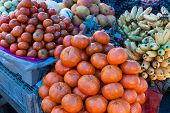 Tangerines, Market Day, Pisac, Peru