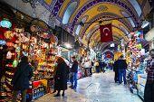 Gran Bazar en Istanbul Interior