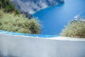 Lovely Details In The Streets Of Santorini
