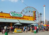 The Nathan s reopened after damage by Hurricane Sandy at Coney Island Boardwalk