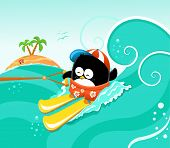 Waterski Penguin