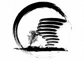 Grunge Weather Icon