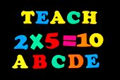 Toy Letters And Numbers - Teach