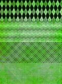 Green Grunge Banner Backgrounds