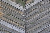 Herringbone Pattern Of The Wooden Planks.