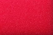 Red Texture Cellulose Foam Sponge Background