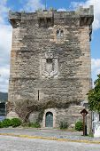 Pontedeume Tower of Andrade, Galicia, Spain