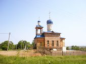 Construction Wooden Rural Church