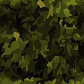 stock photo of camoflage  - Seamless camouflage background - JPG