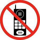 No Cell Phones Sign.eps