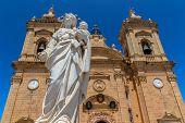 Xaghra Virgin Statue
