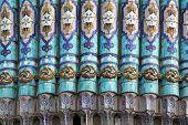 Majolica Of Saint Petersburg Mosque In Russia