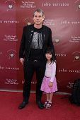 Shepard Fairey daughter Vivian at the John Varvatos 8th Annual Stuart House Benefit, John Varvatos B
