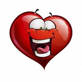 Heart Faces Happy Emoticons - Lol.