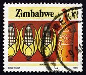 Postage Stamp Zimbabwe 1985 Corn, Agriculture