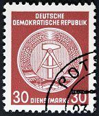 Vintage postage stamp.