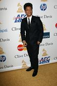Bruno Mars at the Clive Davis Pre-Grammy Awards Party, Beverly Hilton Hotel, Beverly Hills, CA. 02-12-11