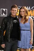 Kevin Pereira and Candace Bailey at Cartoon Network's first ever