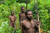 Oceania, Indonesia, Irian Jaya. Korowai Tribe.