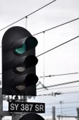 Train green signal