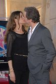 Colin Firth and wife Livia Giuggioli at the indiction ceremony for Colin Firth into the Hollywood Wa