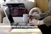 Businesswoman, Coffee & Work