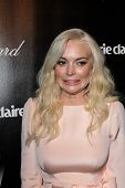 Lindsay Lohan at the Weinstein Company's 2012 Golden Globe After Party, Beverly Hiltron Hotel, Beverly Hills, CA 01-15-12