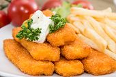 Fish Fingers With Remoulade