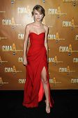 Taylor Swift  at the 44th Annual CMA Awards, Bridgestone Arena, Nashville, TN.  11-10-10