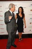 Clint Eastwood and wife Dina Ruiz at the Inaugural Museum Of Tolerance International Film Festival G