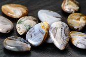 Agate Teardrops Beads