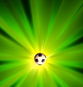Creative Soccer Light Design Template, easy all editable